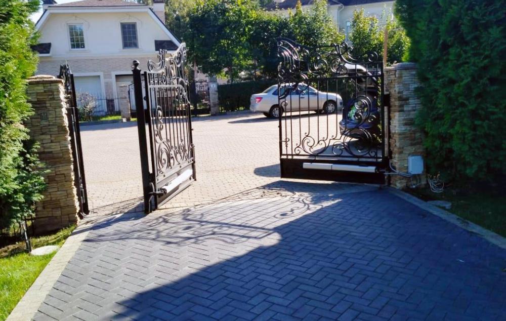 Ворота стильные